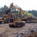 Byggnation av 20km motorväg E18 Lekhyttan-Adolfsberg 2006